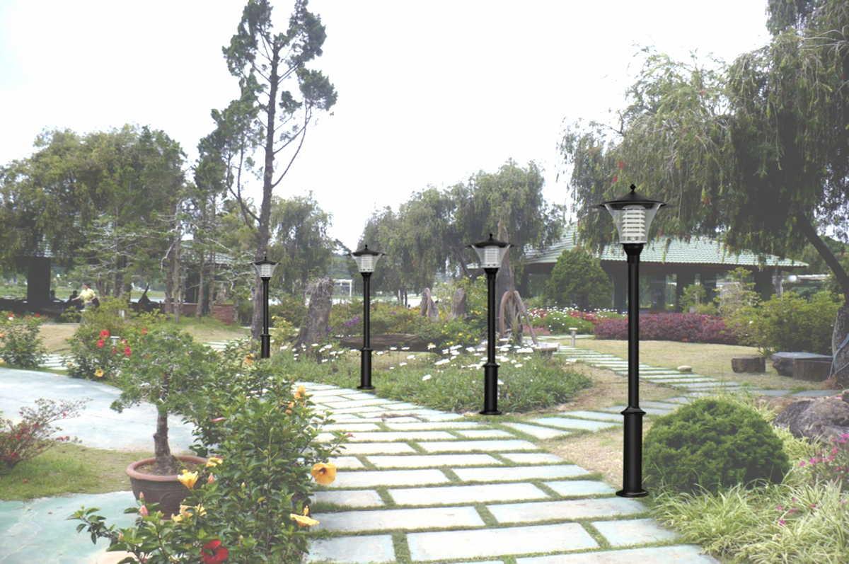 Trụ đèn trang trí sân vườn MB Lighting